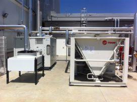 condenseur air et système froid industrie laitière
