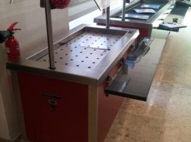 mobilier de libre service réfrigéré pour CHR