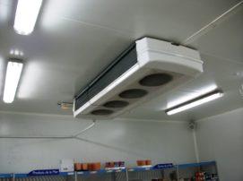 Evaporateur installation au plafond