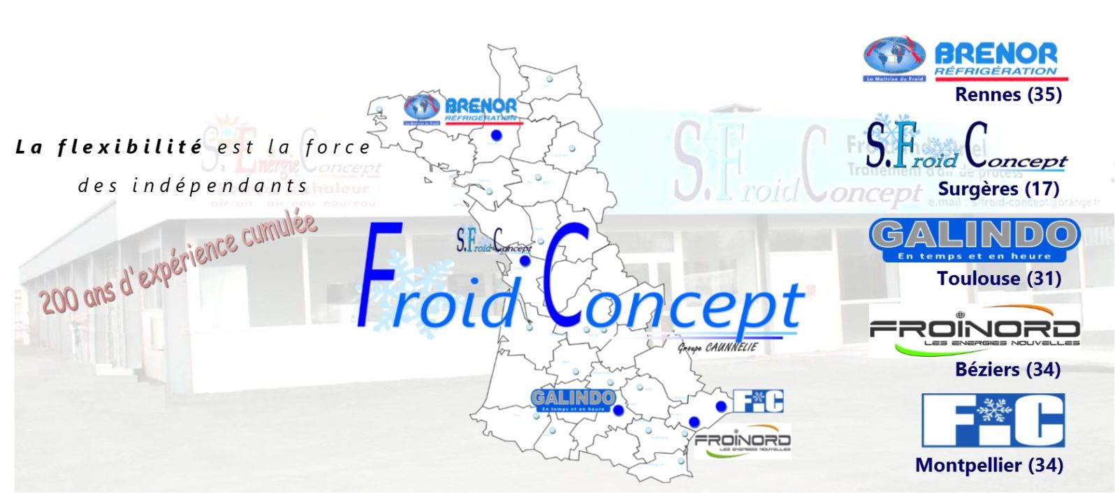 froid concept interventions régionales
