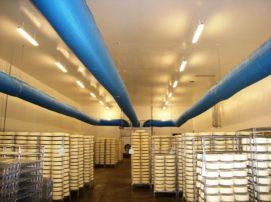 Traitement de l'air chez un fabricant de fromage