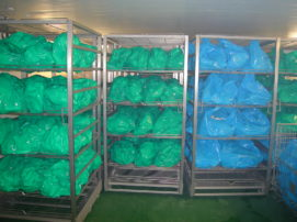 Rack de produits agroalimentaire à décongeller