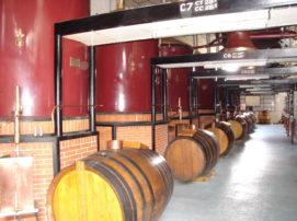 maintien en température de la salle de distillerie