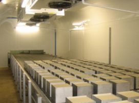 installateur de tunnel de refroidissement