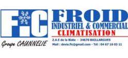 logo FIC froid industriel et commercial montpellier