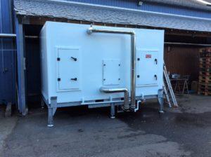 centrale traitement air polyester batterie inox 316l