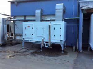 centrale traitement air polyester usine miticulture bretagne