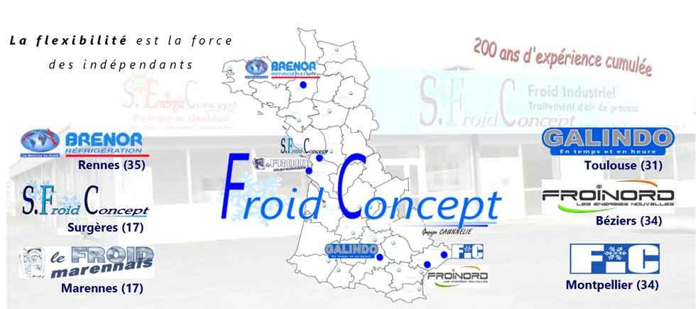 groupe caunnelie froid concept frigoriste france
