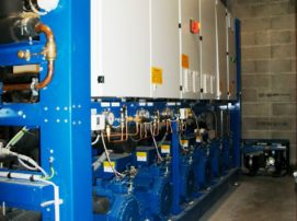 armoire de contrôle récupération de chaleur carrier cooltech