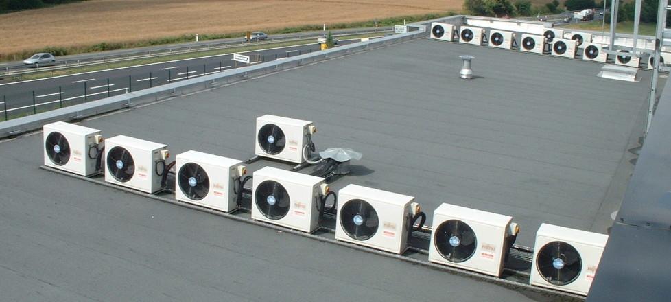 Instalation pac climatisation en rooftop