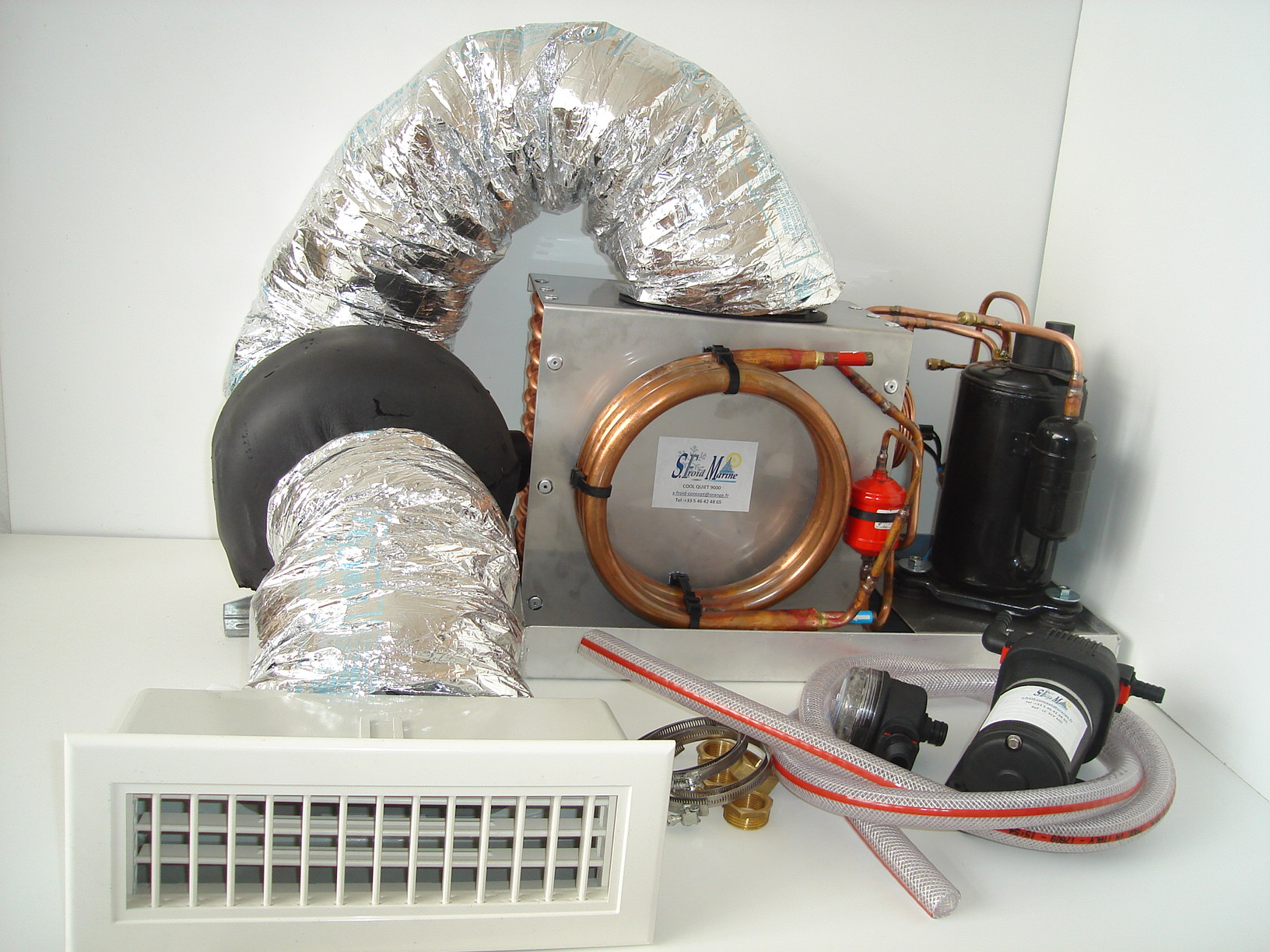 Installation Climatisation Bateau Monobloc Cool Quiet