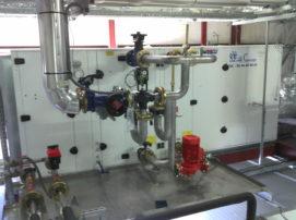 tuyauterie centrale traitement d'air wesper