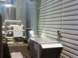 installation insufflation d'air industrielle
